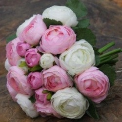 Garden Rose Wedding Mix 72 Stems